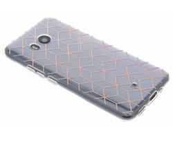 Cubes design TPU hoesje HTC U11