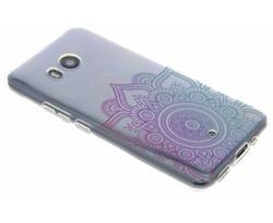 Mandala design TPU hoesje HTC U11