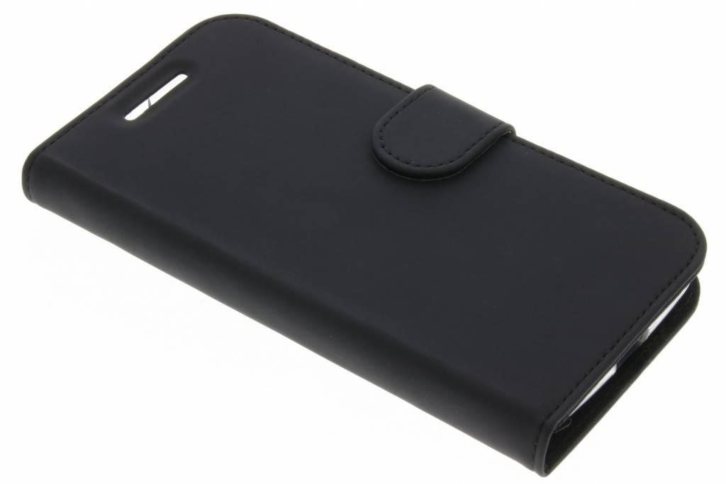 Accezz Zwarte Wallet TPU Booklet voor de Motorola Moto E3