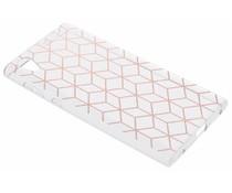 Cubes design TPU hoesje Sony Xperia L1