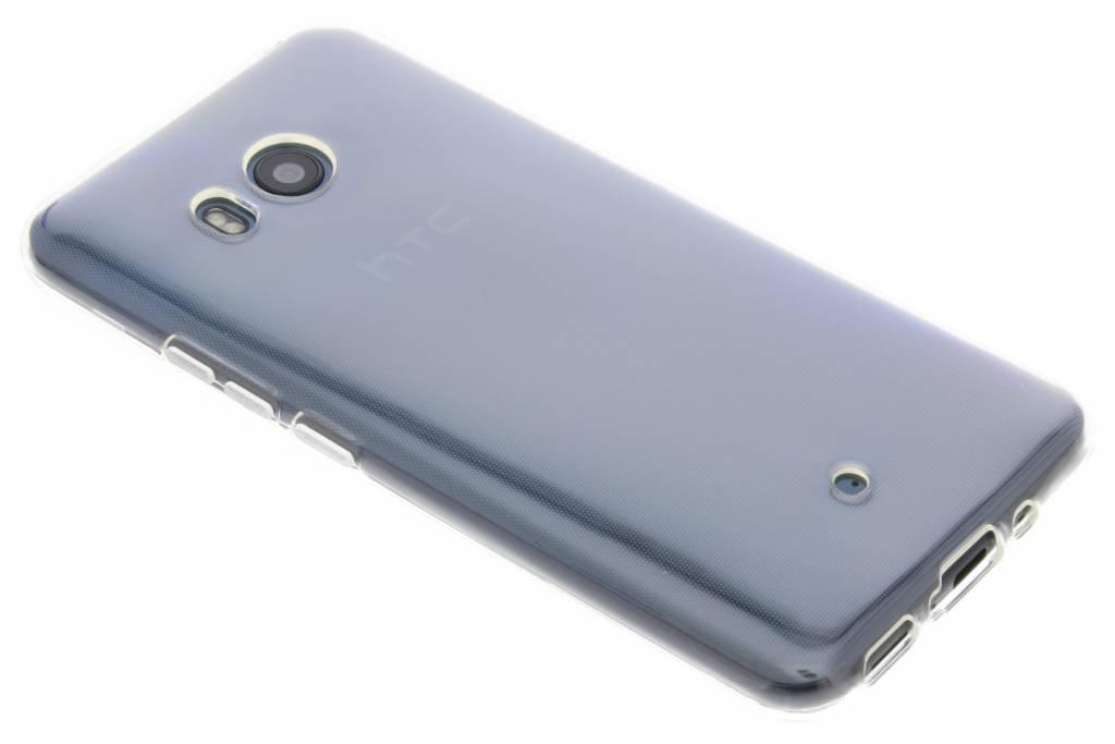 Accezz Transparante TPU Clear Cover voor de HTC U11