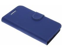 Accezz Blauw Wallet TPU Booklet Motorola Moto E3