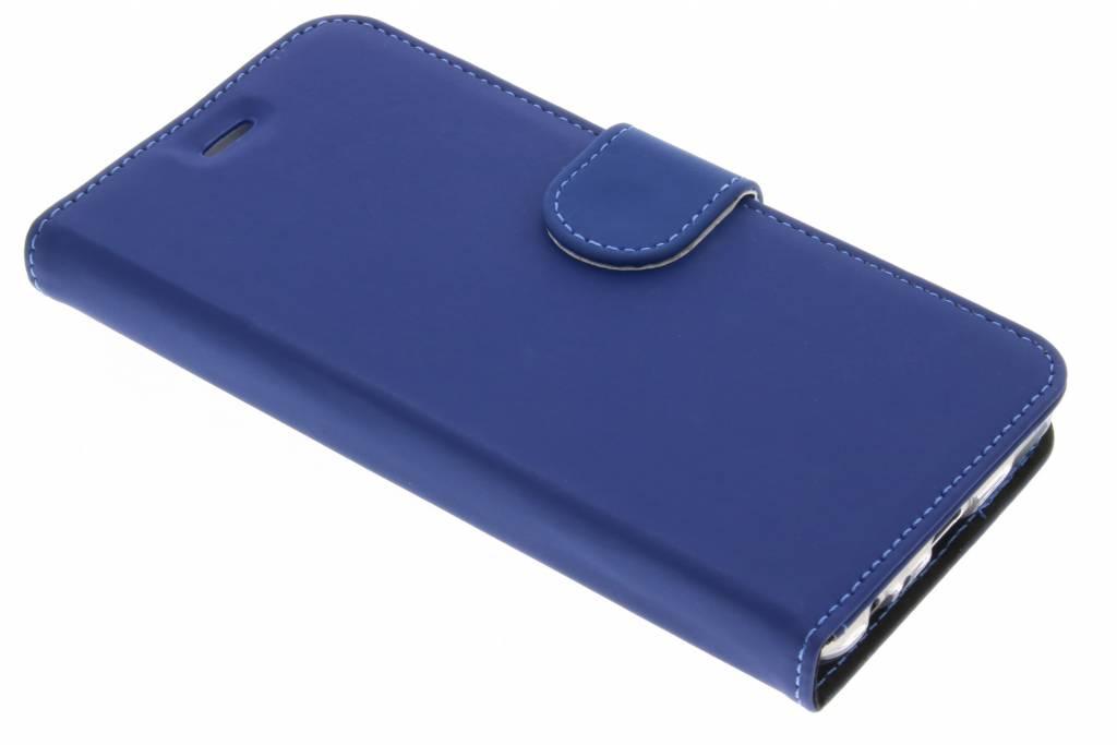 Accezz Blauwe Wallet TPU Booklet voor de Huawei P10