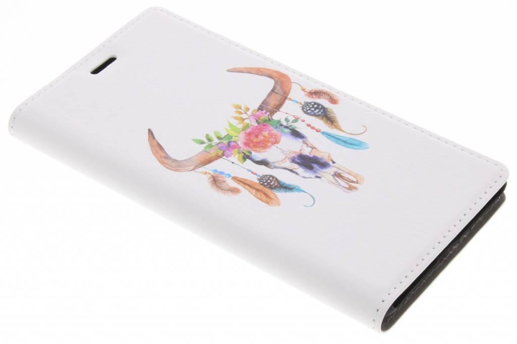 Bull Skull Design Booklet voor de Nokia 3