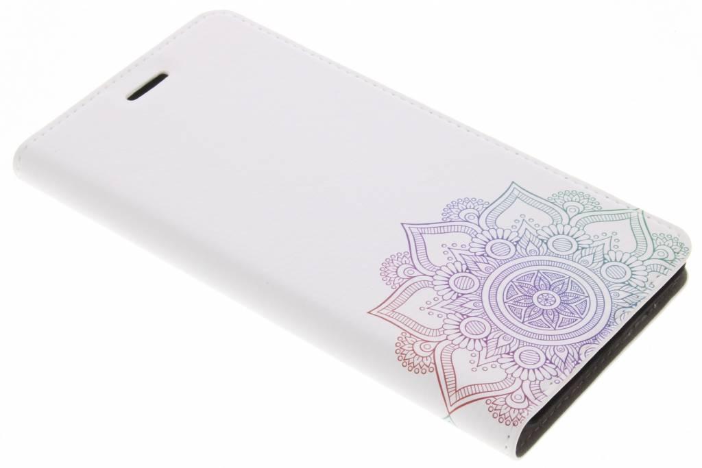 Multicolor Mandala Design Booklet voor de Nokia 6