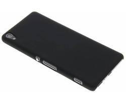 Zwart effen hardcase hoesje Sony Xperia XA