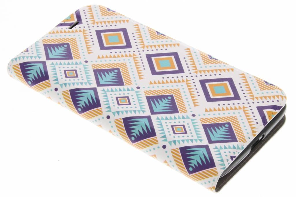 Aztec Design TPU Booklet voor de Acer Liquid Zest (4G)