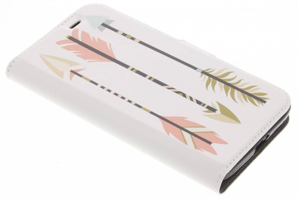 Arrows Design TPU Booklet voor de Acer Liquid Zest (4G)