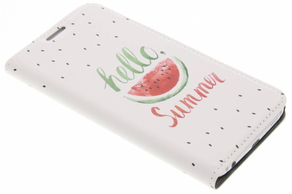 Watermeloen Design Booklet voor de Samsung Galaxy S6