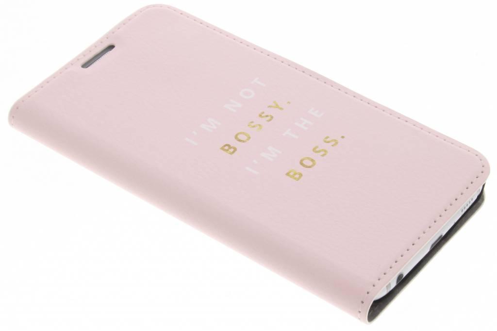 Girl Boss Design Booklet voor de Samsung Galaxy S6
