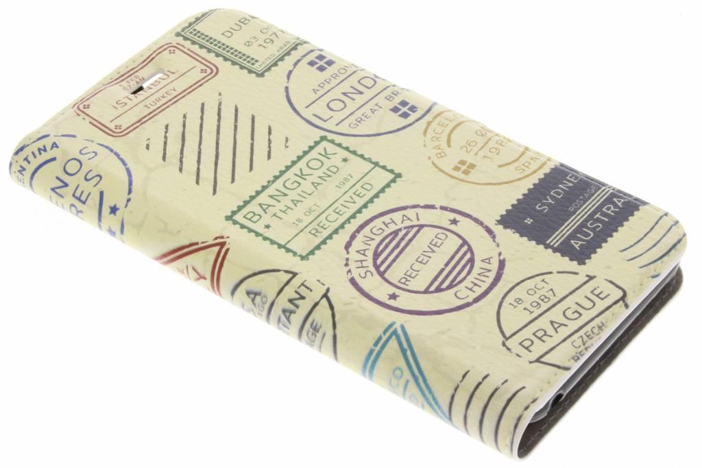 Postzegel Design TPU Booklet voor de Acer Liquid Z6