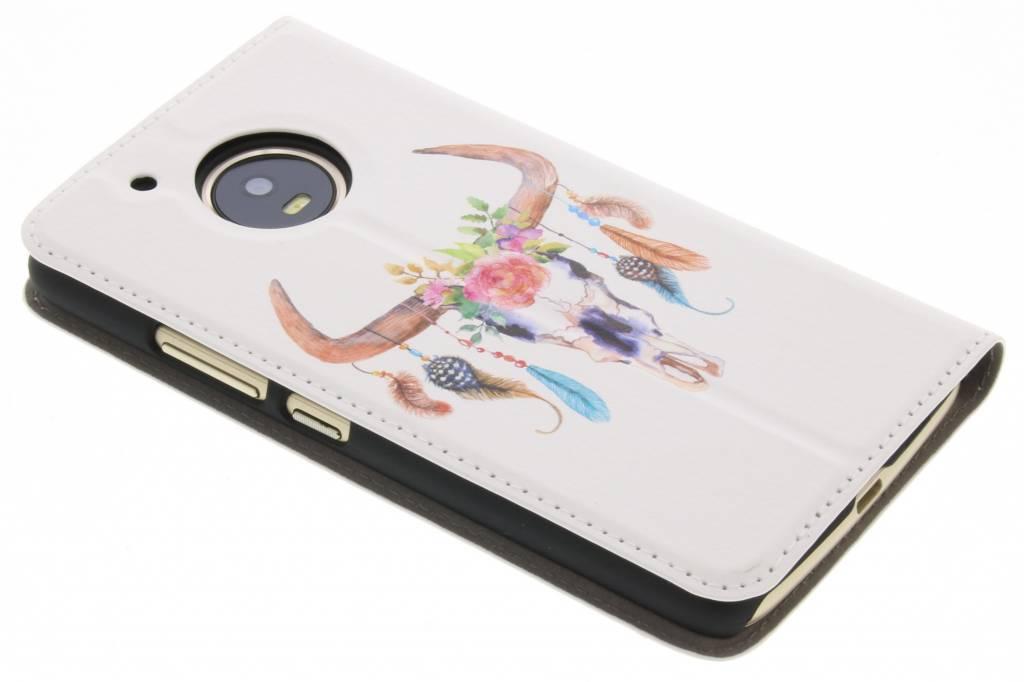 Simple Livret Blanc Pour Motorola Moto G5 QWTWWIJT2