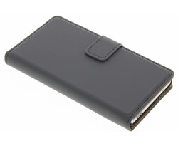Selencia Grijs Luxe Book Case Sony Xperia Z3 compact