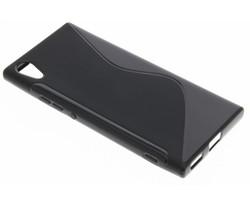 Zwart S-line TPU hoesje Sony Xperia XA1