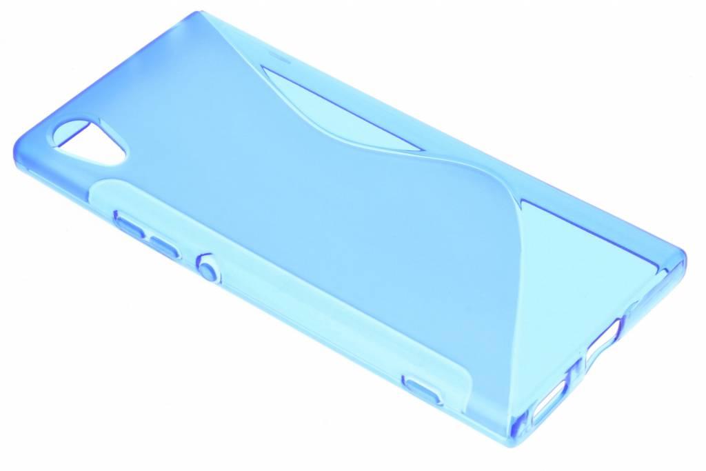 Blauw S-line TPU hoesje voor de Sony Xperia XA1