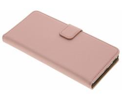 Selencia Rosé Goud Luxe Book Case Sony Xperia XA