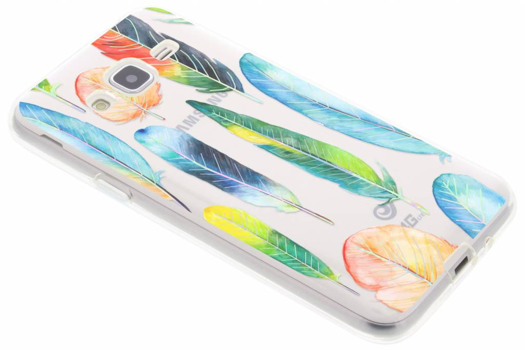 Holographic feathers case voor de Samsung Galaxy J3 / J3 (2016)