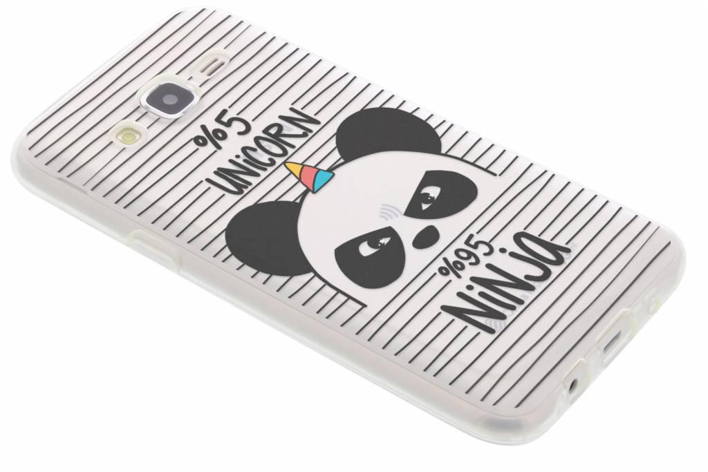 Panda design TPU hoesje voor de Samsung Galaxy J5