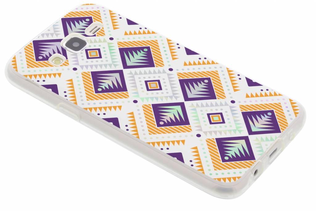 Holographic aztec case voor de Samsung Galaxy J5