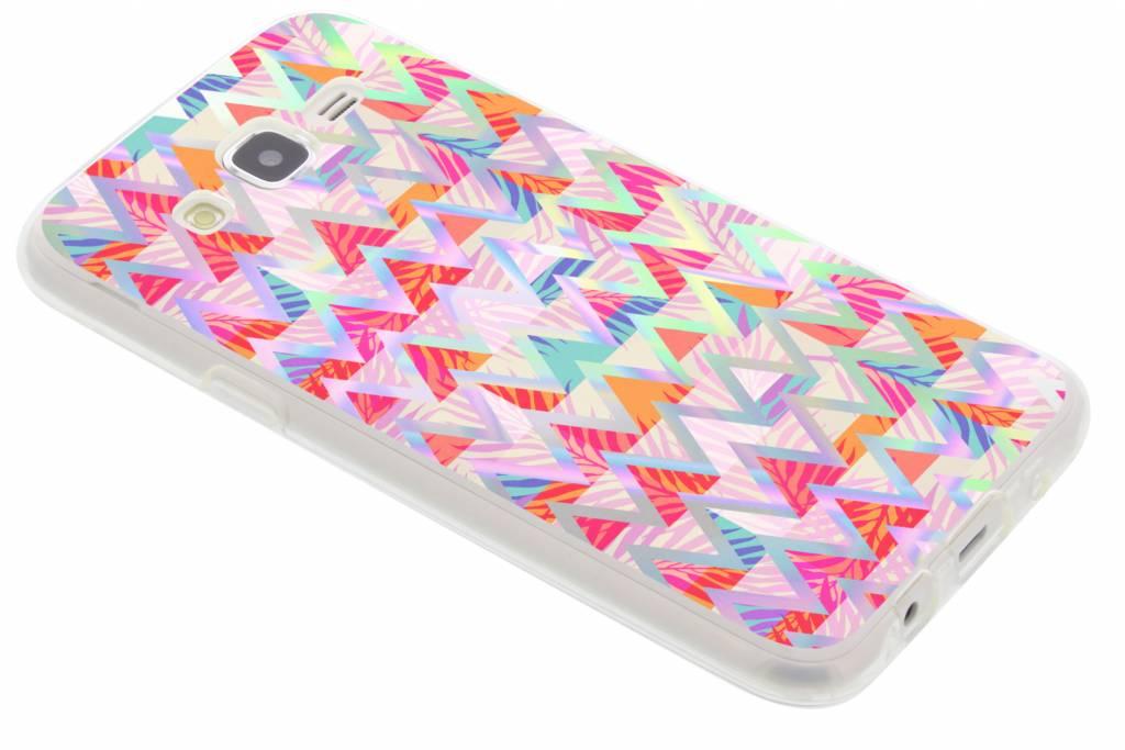 Holographic colorful case voor de Samsung Galaxy J5