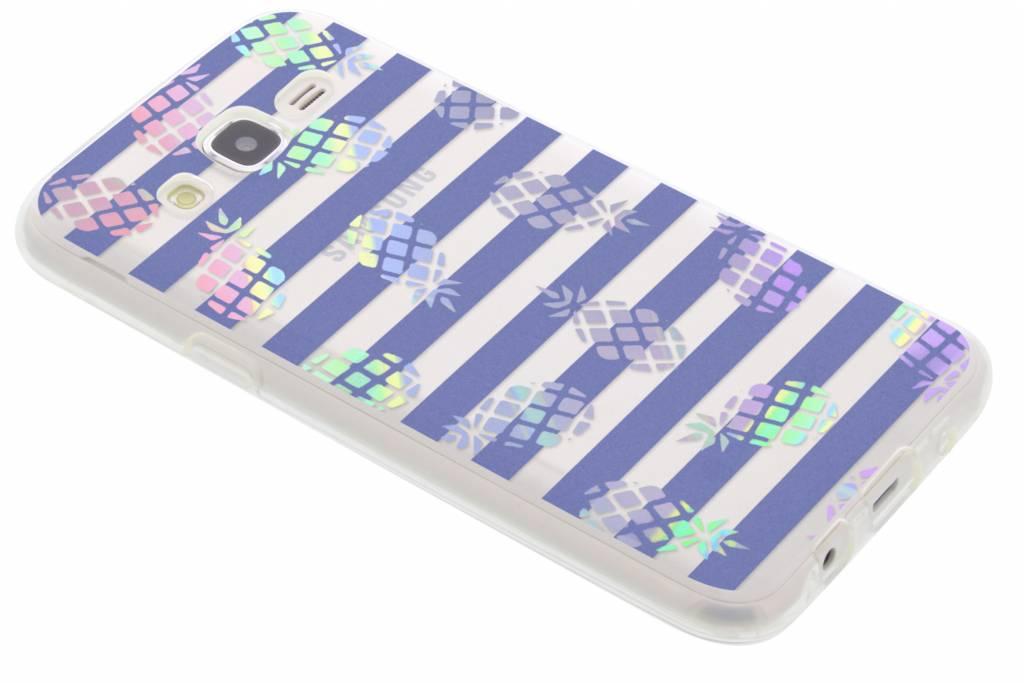 Holographic pineapple case voor de Samsung Galaxy J5