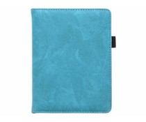 Turquoise luxe effen book case Kobo Glo
