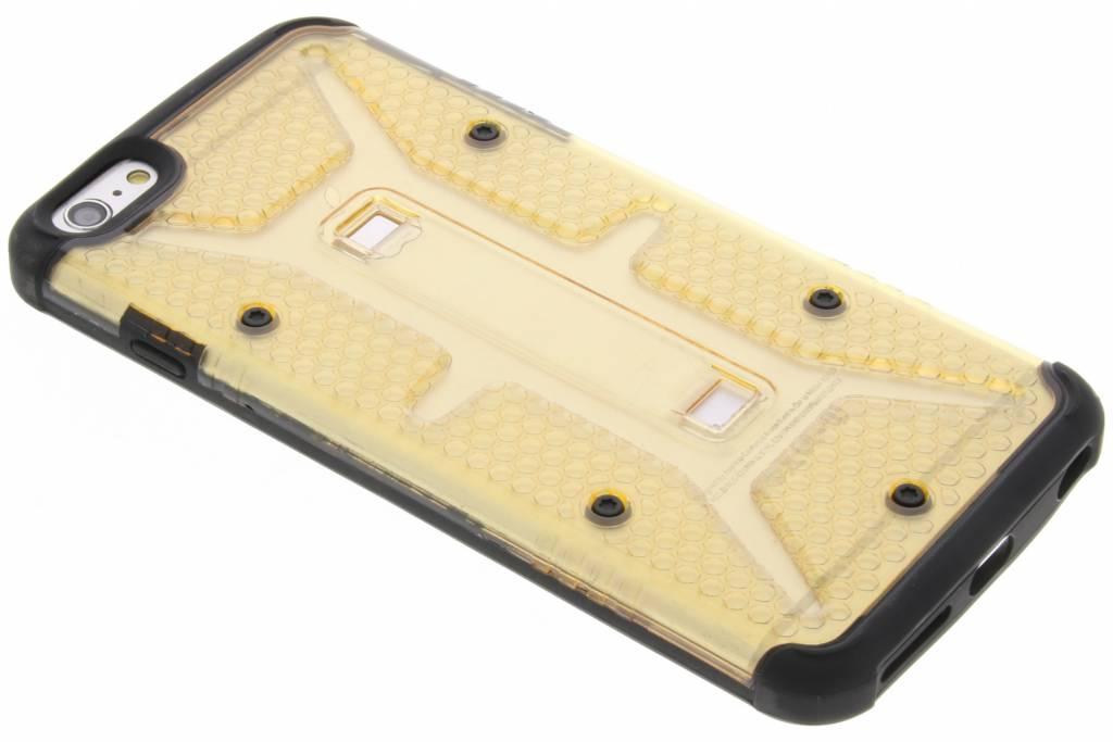 Transparante gele Xtreme defender hardcase voor de iPhone 6(s) Plus