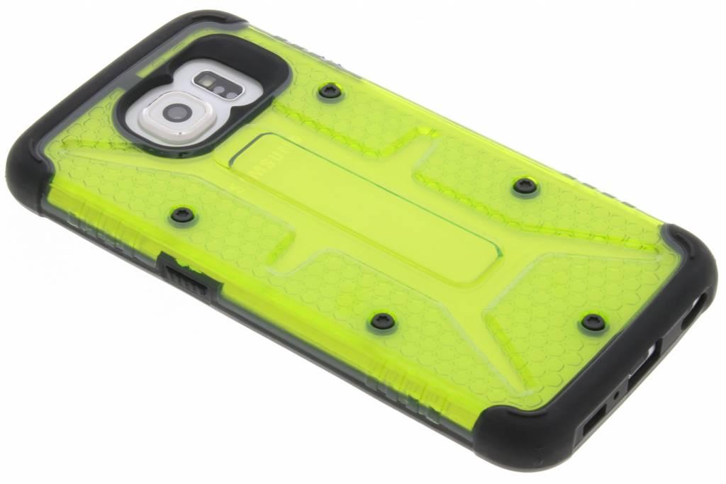 Transparante groene Xtreme defender hardcase voor de Samsung Galaxy S6