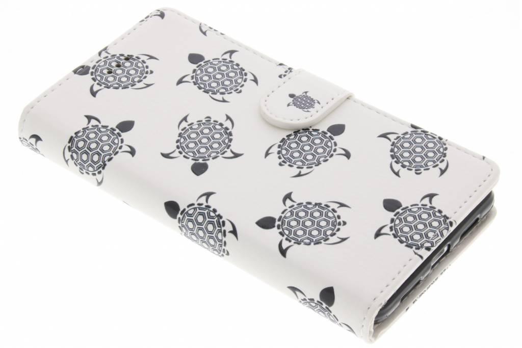 Schildpad design TPU booktype hoes voor de Huawei P9 Lite