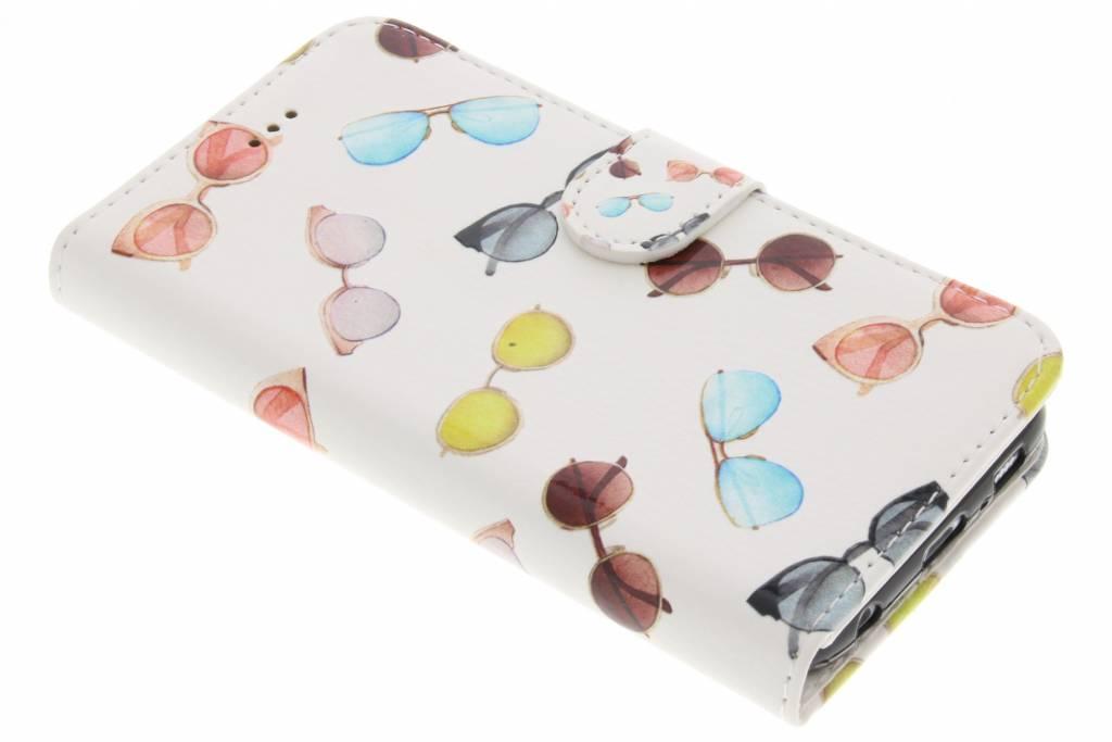 Zonnebrillen design TPU booktype hoes voor de Samsung Galaxy S6