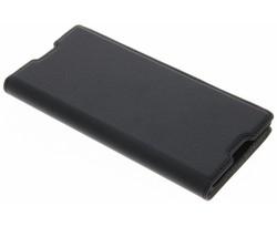 Zwart Effen Booklet Sony Xperia XA1
