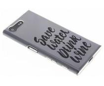 Quote design TPU hoesje Sony Xperia X Compact