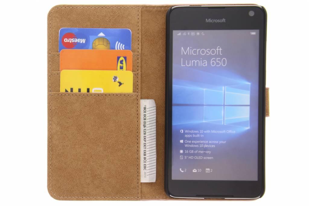 Rosé Bibliothèque De Luxe D'or Pour Microsoft Lumia 650 ALCe2K