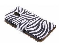 Zebra booktype hoes Motorola Moto G 2nd Gen 2014