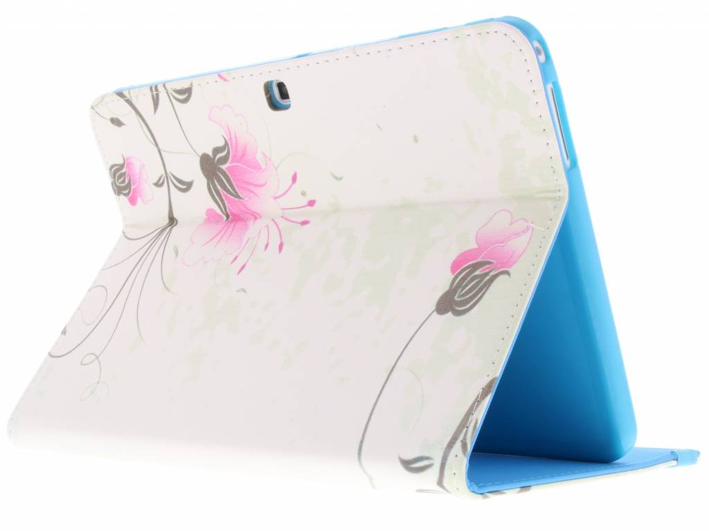 Design Floral Couverture Tablette Tpu Pour Samsung Galaxy Tab 10.1 4 Ykdx2KVMD
