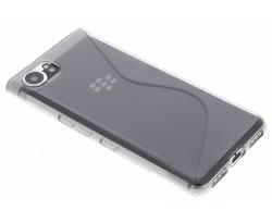 Grijs transparant S-line TPU hoesje Blackberry KeyOne