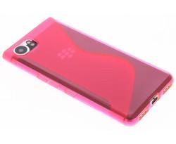 Roze transparant S-line TPU hoesje Blackberry KeyOne