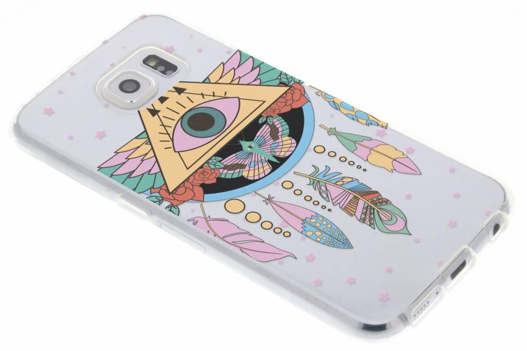 Feathers design TPU hoesje voor de Samsung Galaxy S6