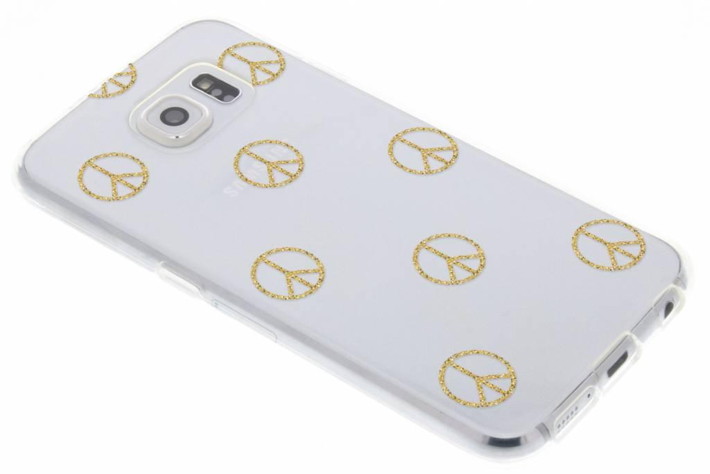 Peace design TPU hoesje voor de Samsung Galaxy S6