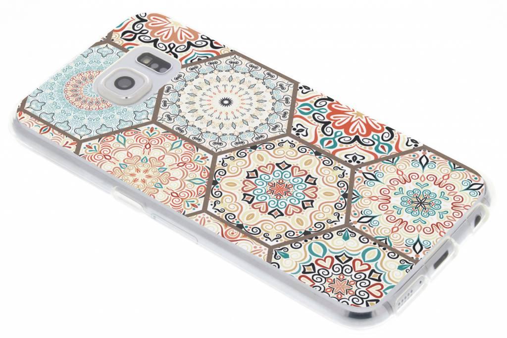 Hippie design TPU hoesje voor de Samsung Galaxy S6