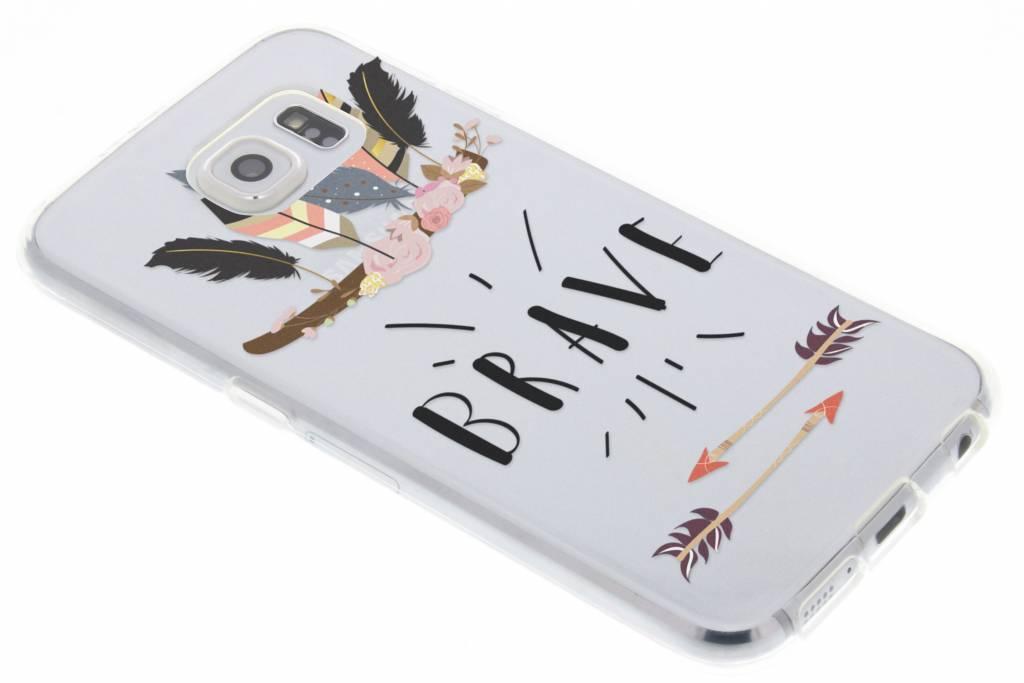 Brave design TPU hoesje voor de Samsung Galaxy S6