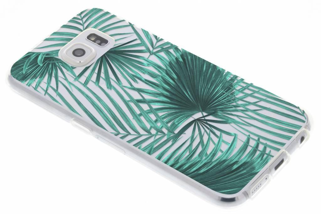 Green Leaves design TPU hoesje voor de Samsung Galaxy S6