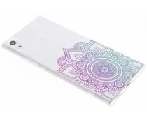 Mandala design TPU hoesje Sony Xperia XA1 Ultra