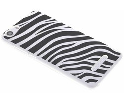 Dierenprint design Zebra TPU hoesje Wiko Lenny 2