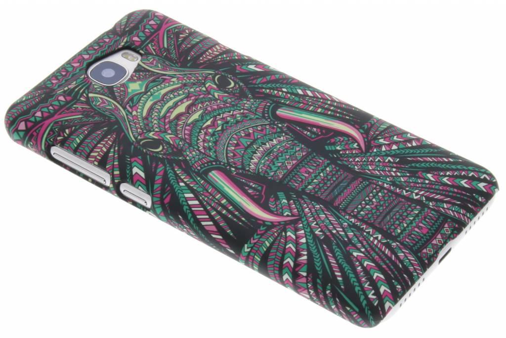Olifant aztec animal design hardcase voor de Huawei Y5 2 / Y6 2 Compact