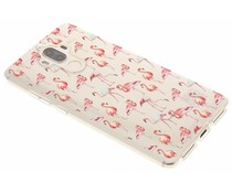 Flamingo design TPU hoesje Huawei Mate 9