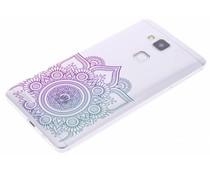 Mandala design TPU hoesje Huawei Ascend Mate 7