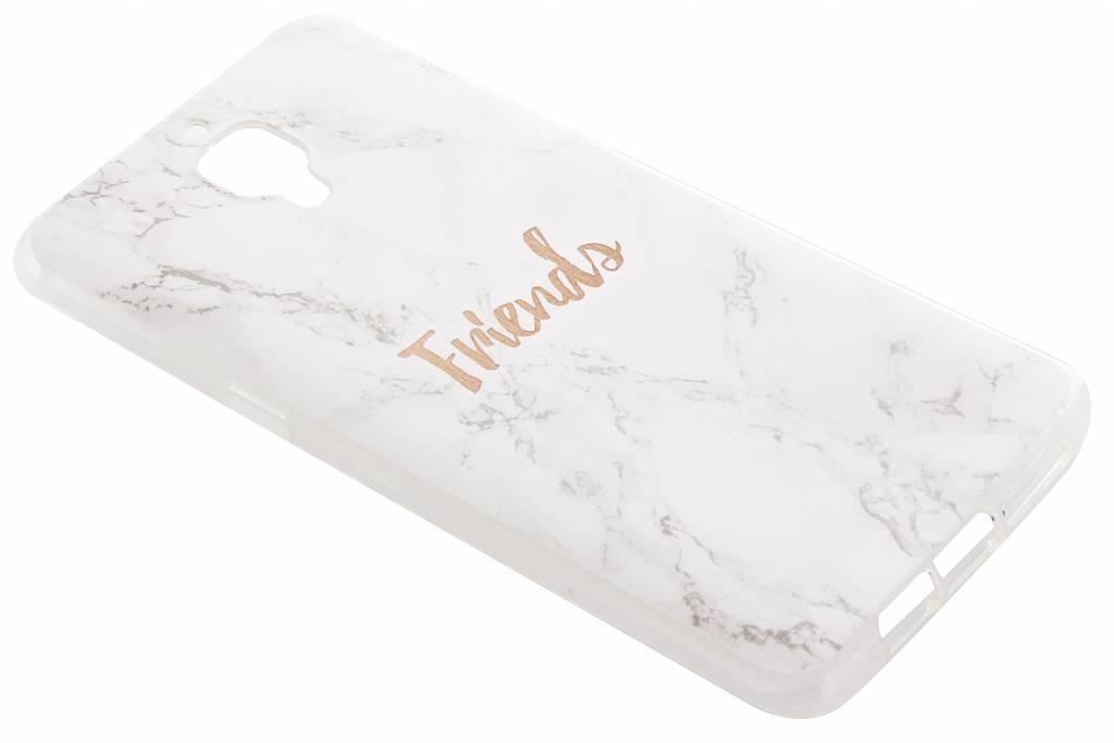 BFF White Marble Love TPU hoesje voor de OnePlus 3 / 3T