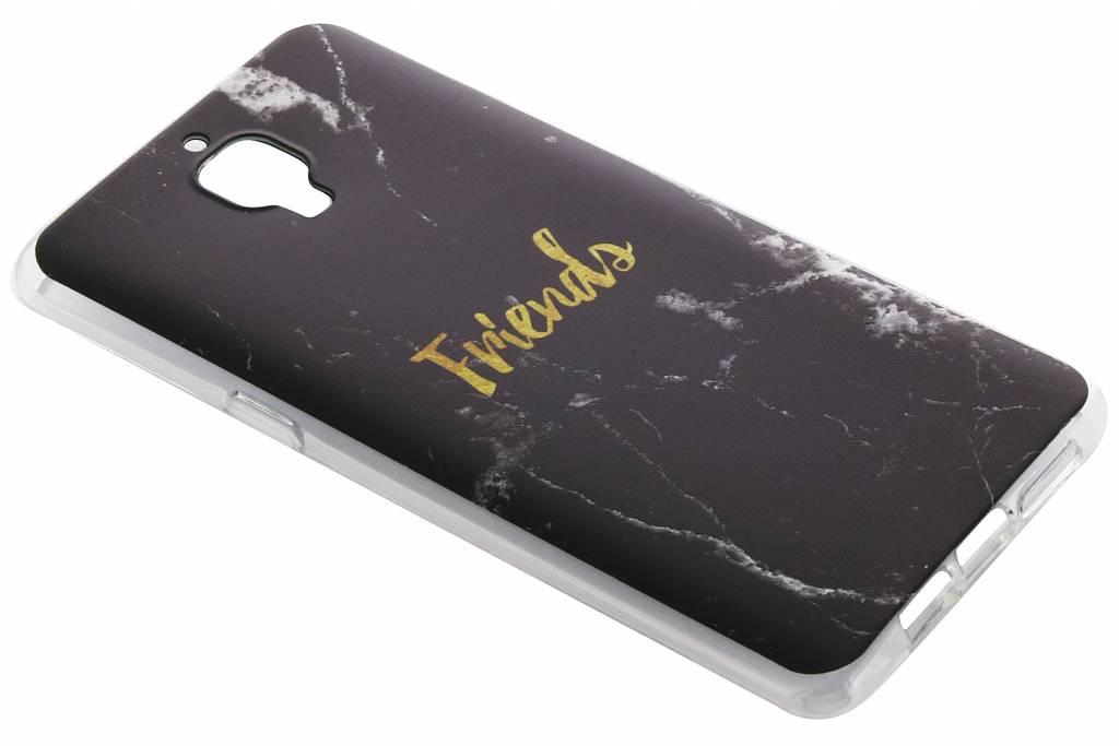 BFF Black Marble Love TPU hoesje voor de OnePlus 3 / 3T