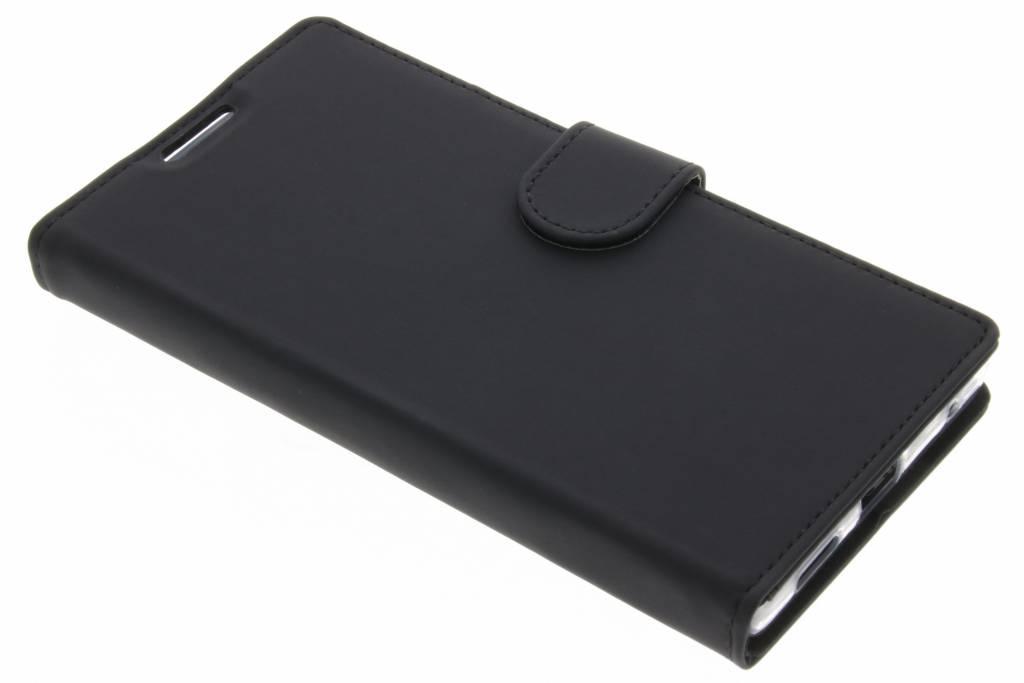 Accezz Zwarte Wallet TPU Booklet voor de Sony Xperia L1